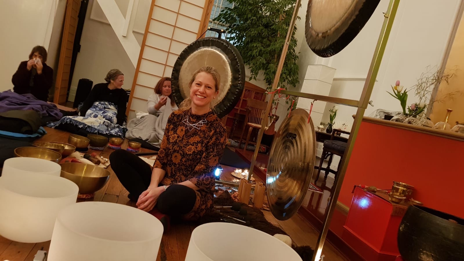 Start the Week with a restorative and uplifting Live Online Gong Bath