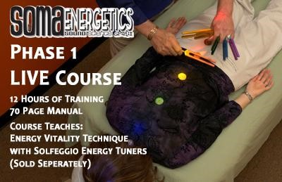 LONDON - Soma energetics Sound Therapist training- Phase one- Solfeggio