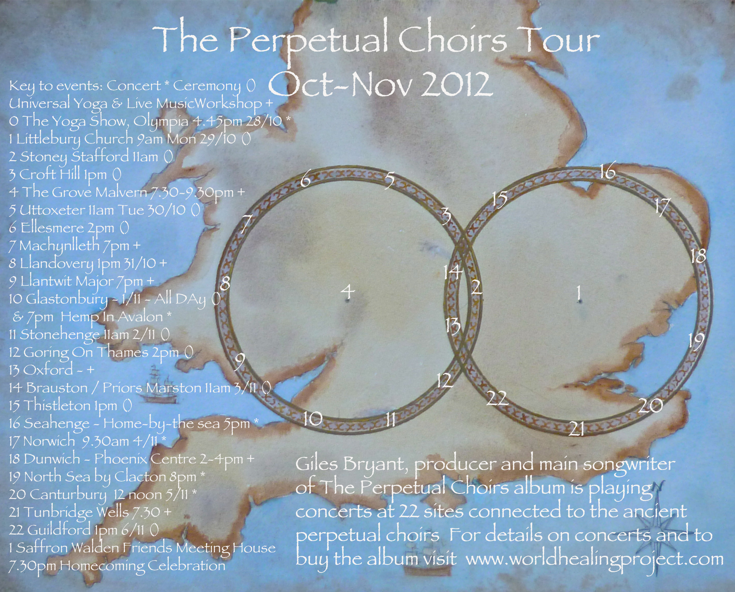 The Perpetual Choirs Tour of Britain