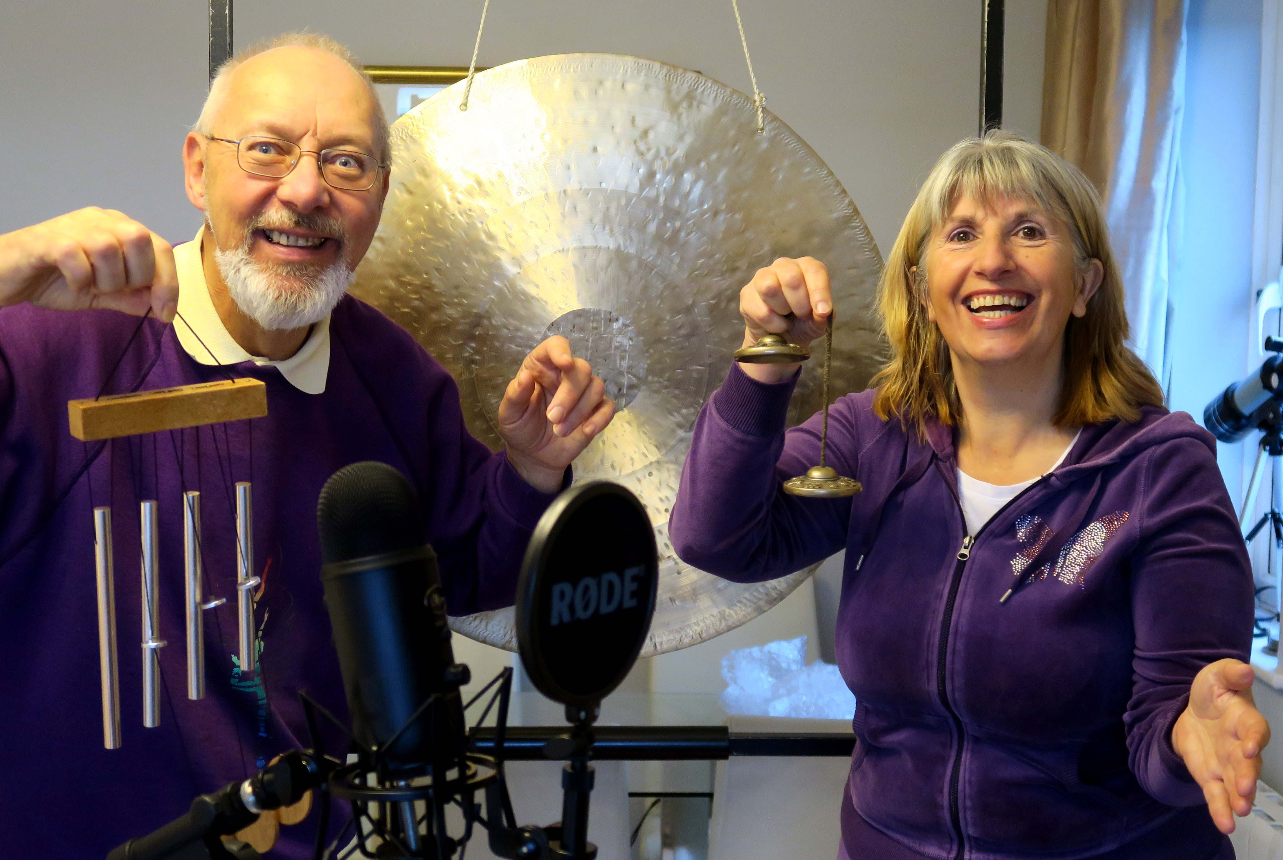 ONLINE - Relaxing Sound Bath with Bards of Avalon - Online