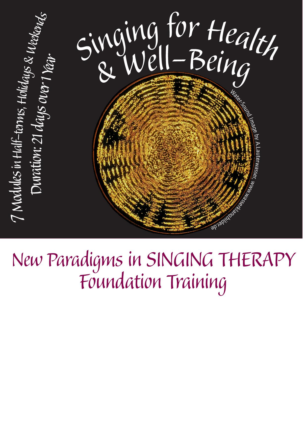 Singing for Health and Wellbeing