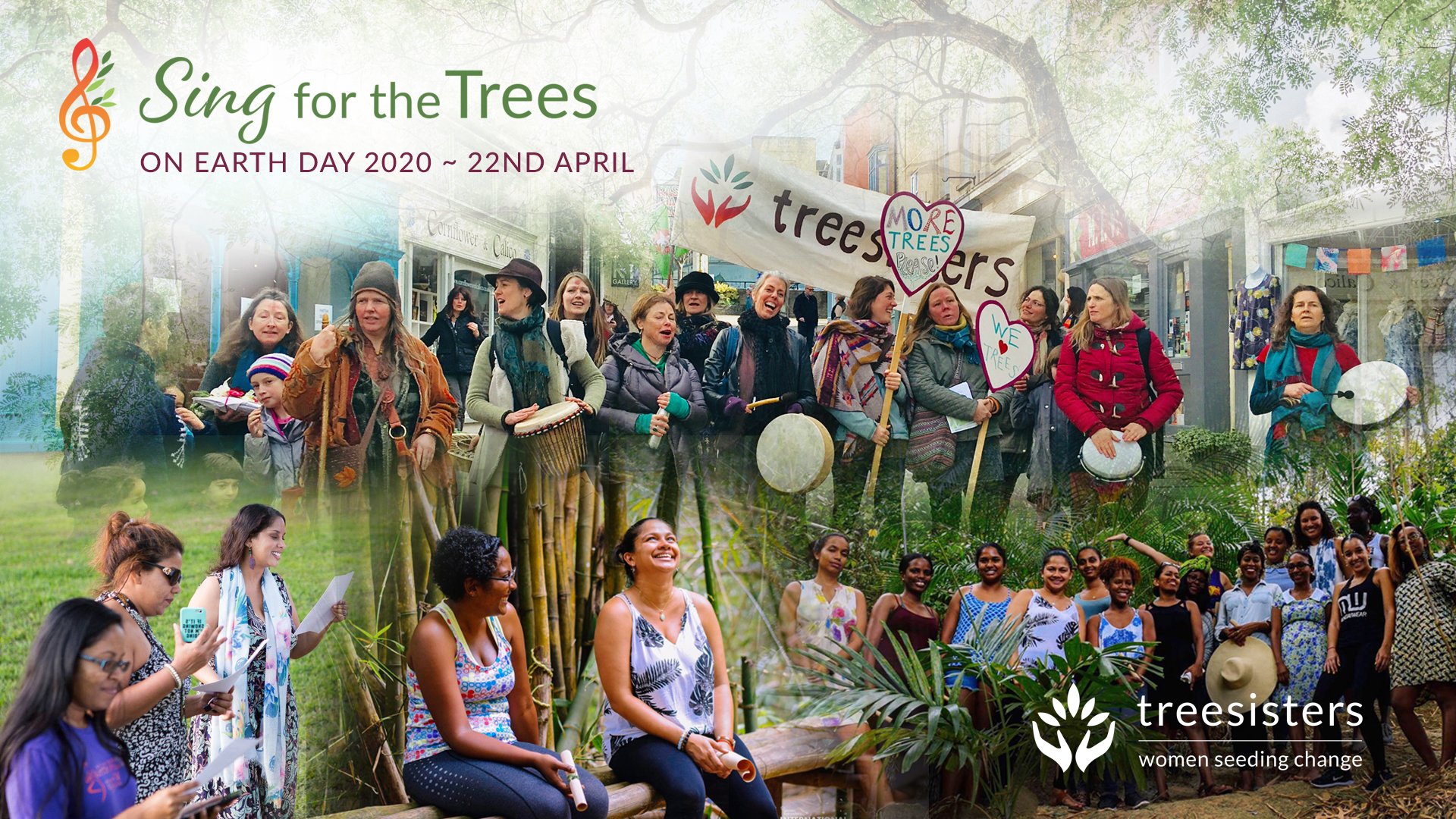 GLOBAL - Earth Day-Sing for the Trees 10th Anniversary