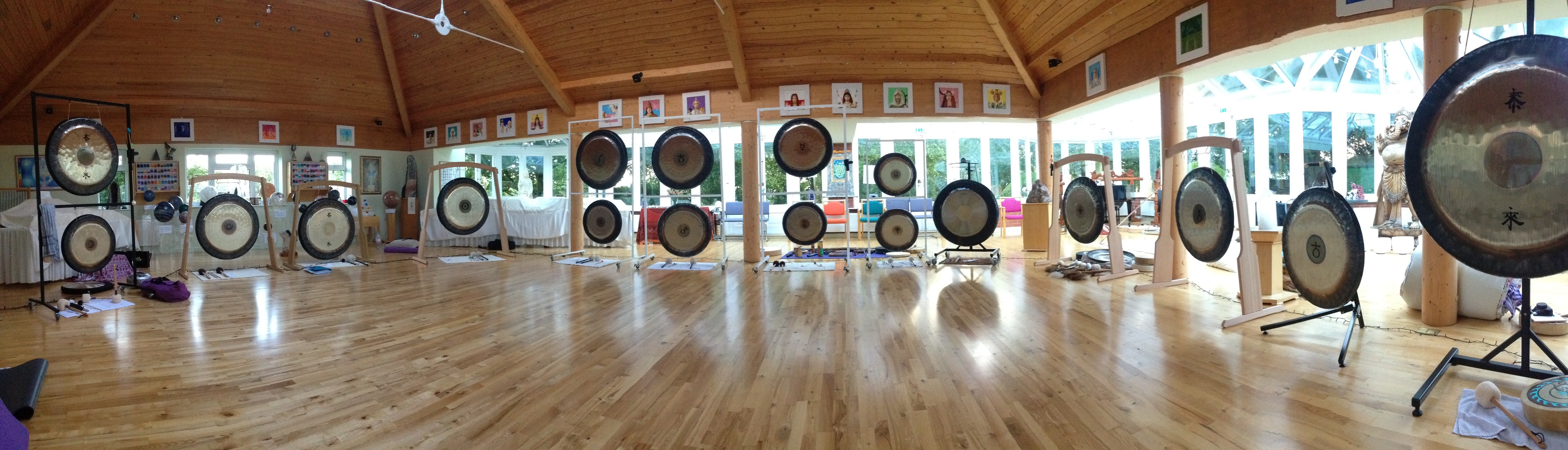 LINCOLNSHIRE - GONG MASTER PRACTITIONER TRAINING - HARMONY OF THE SPHERES RESIDE