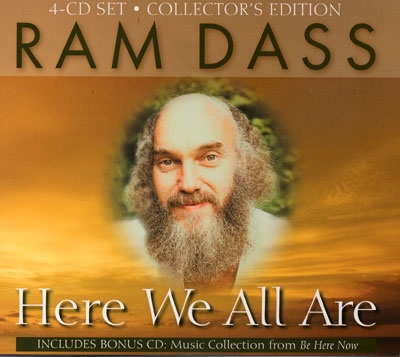 Ram Dass  - Here We All Are - 4 CDs