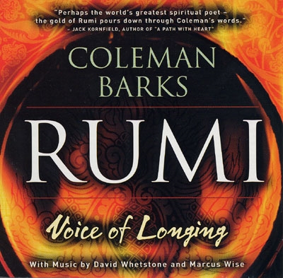 Rumi - Voice of Longing - Coleman Barks - 2 CDs