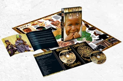Africa - Palm World Voices - CD, DVD, Book & Map Set