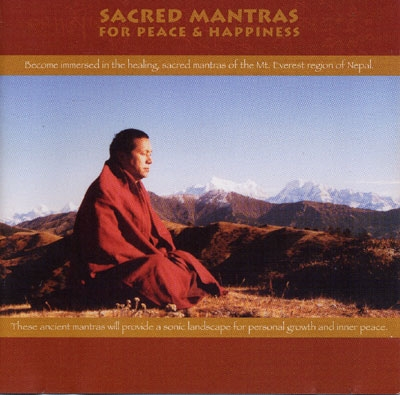 Sacred Mantras for Peace & Happiness - Tolu Tharling Monastery - 2 CDs