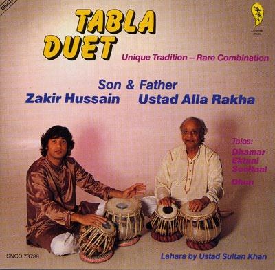 Tabla Duet - Zakir Hussain & Ustad Alla Rakha