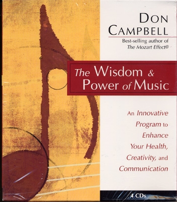 Don Campbell - The Wisdom & Power of Music - 4 CDs