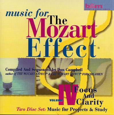 Don Campbell - Music for The Mozart Effect Vol 4 - 2 CDs