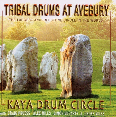 Kaya Drum Circle with Craig Pruess & Geoff Miles - Tribal Drums at Avebury