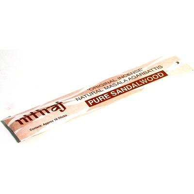 .Nitiraj Original Incense - Pure Sandalwood