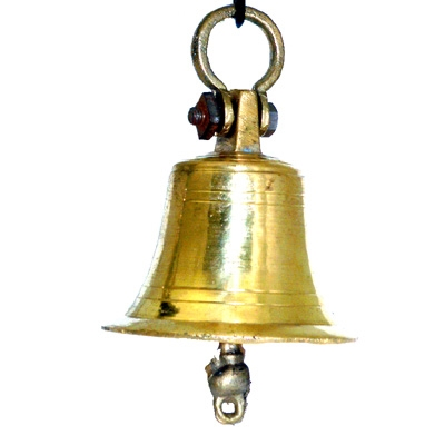 Indian Temple Bell - 16 cm