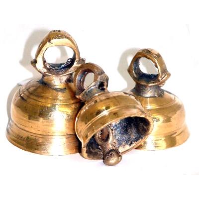 Set of 3 Indian Bells