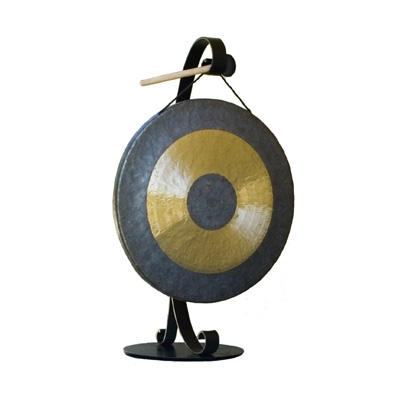 Iron Gong Stand - Large