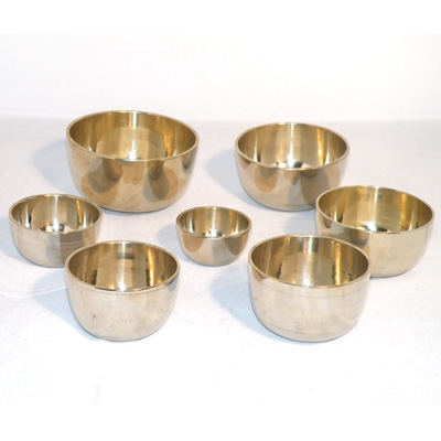Set of 7 Singing Bowls