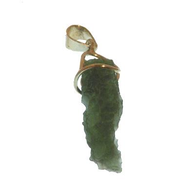 Moldavite Pendant - No 22