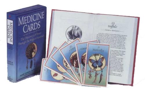 Medicine Cards: The Discovery of Power Through the Ways of Animals - Jamie Sams & David Carson