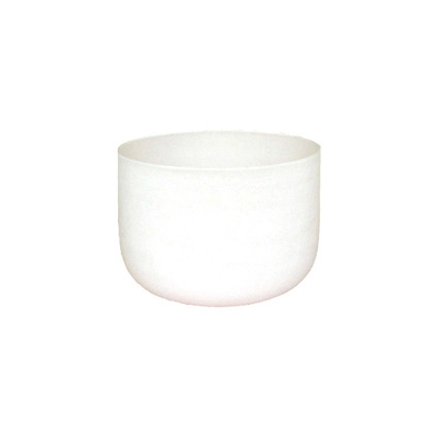 Frosted Crystal Singing Bowl - Solfeggio - 10 Inch