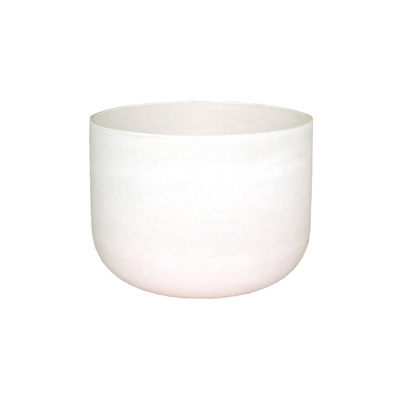 Frosted Crystal Singing Bowl - 14 Inch