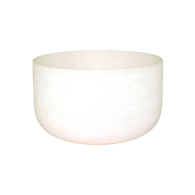 Frosted Crystal Singing Bowl - 16 Inch