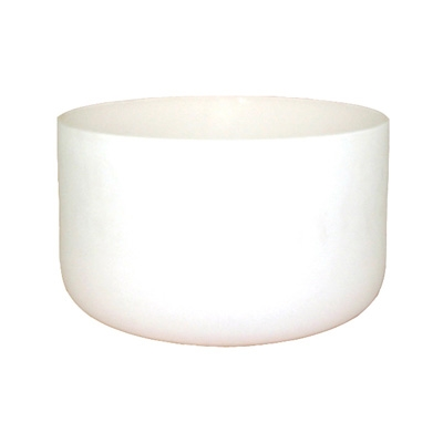 Frosted Crystal Singing Bowl - 18 Inch