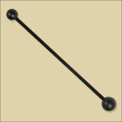 Rubber Beater - Double Headed
