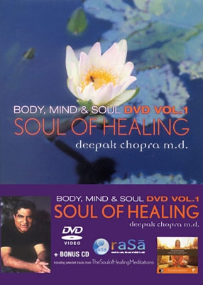 Deepak Chopra - Soul of Healing - DVD + Bonus CD