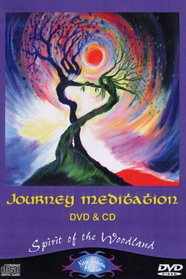 Journey Meditation - Spirit of the Woodland - DVD & CD