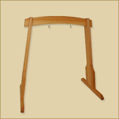 Harmony Wooden Gong Stand - 100 cm