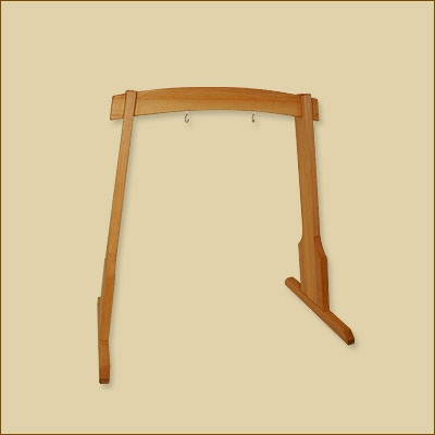 Harmony Wooden Gong Stand - 60 cm