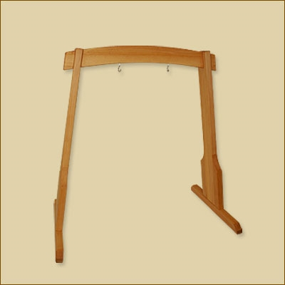 Harmony Wooden Gong Stand - 80 cm