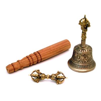 Tibetan Bell Set - Small