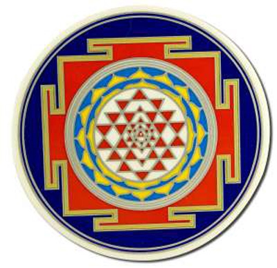 Window Transparency - Sri Yantra