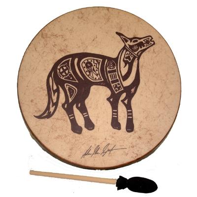 Remo Buffalo Drum - Lone Coyote- 16 Inch