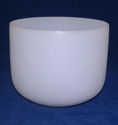 Neodymium Fusion Crystal Singing Bowl - 10 Inch