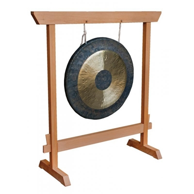 Wooden Gong Stand - Small