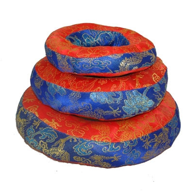 Silk Brocade Singing Bowl Ring