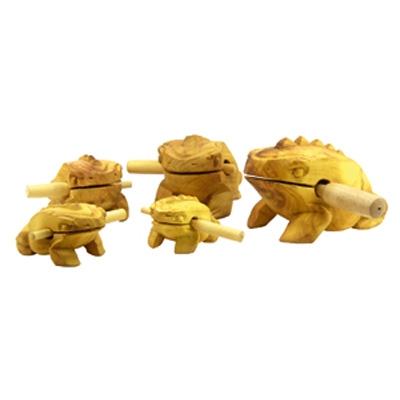 Croaking Frog Guiro - 6 cm