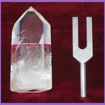 The Crystal Resonator Tuning Fork