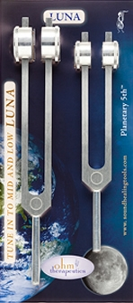 Tuning Forks- LUNA Planetry 5th Set