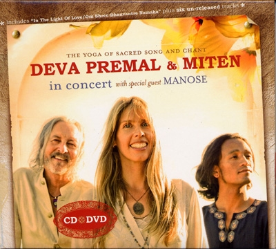 Deva Premal & Miten In Concert with special guest Manose - CD & DVD