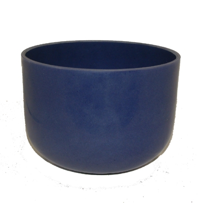 Cobalt Fusion Crystal Singing Bowl - 9 Inch