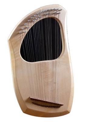 Auris Chromatic 23 String Lyre