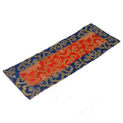Silk Brocade Temple Cloth - Lotus