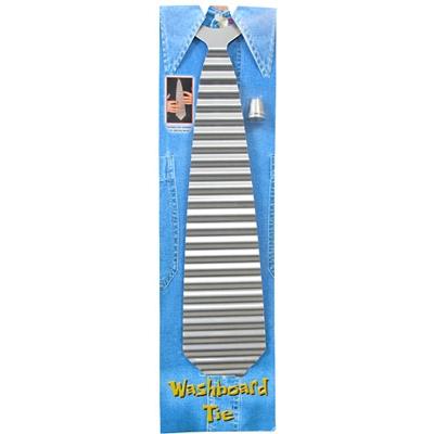 Zydeco Washboard Tie