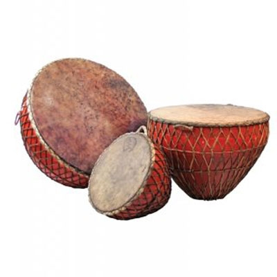 Iron Nagara Drum - 50 cm