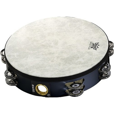 "Remo 10"" Tambourine - Double Row"