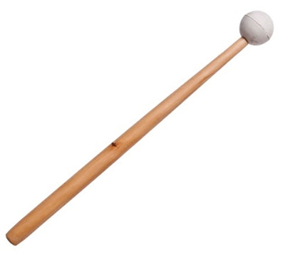Long Handled Rubber Bowl Mallet