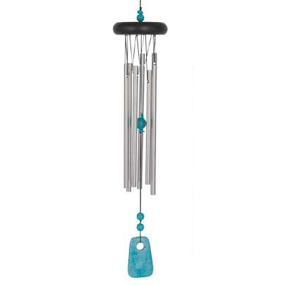 Woodstock Chakra Chimes - Turquoise